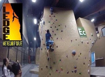 The Ledge Rock Climbing