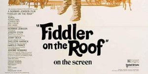 FIDDLER ON THE ROOF (1971) [U]: Singalong Matinee